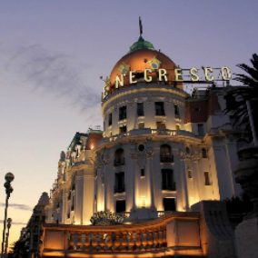 November 2017 – Traditional Thanksgiving Celebration lunch Hotel Le Negresco in Nice.