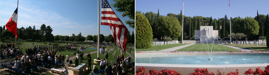 May 2018- Memorial Day Ceremony and lunch in Les Arcs en Argens