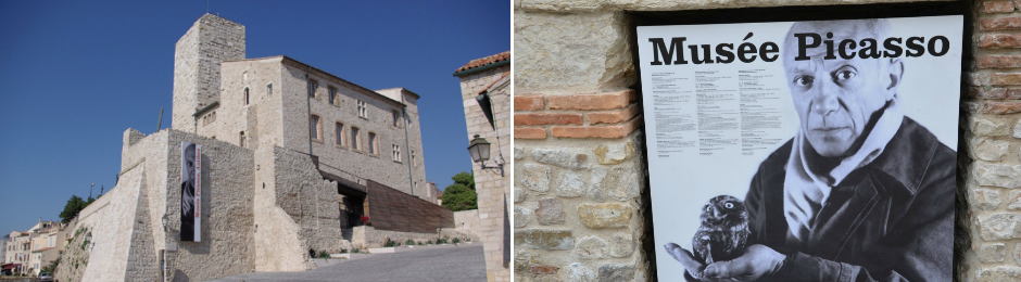 Saturday 16th June – A guided tour of Antibes Old Town and Picasso Museum, followed by a Lebanese lunch