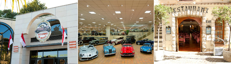 SOLD OUT! Saturday 23rd February – Visit to the car collection of H.S.H. Prince Albert of Monaco  and lunch in Monaco Ville