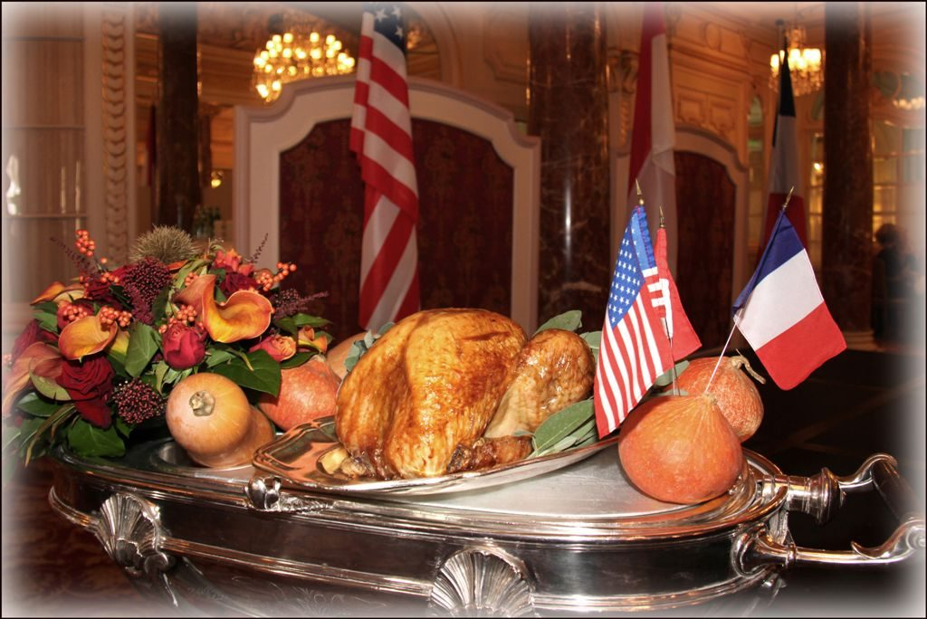 Thursday 28th November- Invitation to our annual Thanksgiving Day celebration at Hôtel Hermitage, Monte Carlo
